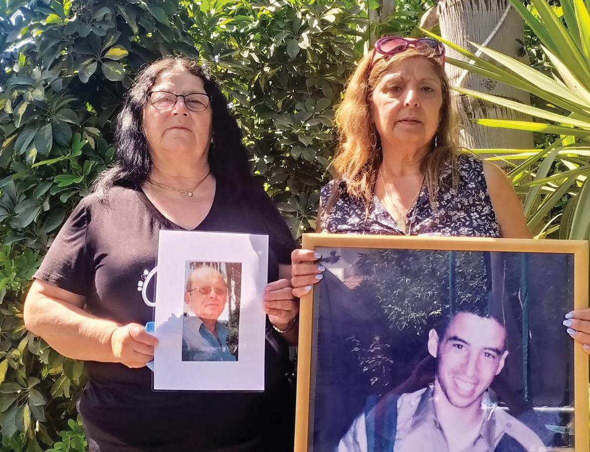אוסנת אדלשטיין ששכלה את בנה החייל ושרה עבו ששכלה את אחיה שמוליק