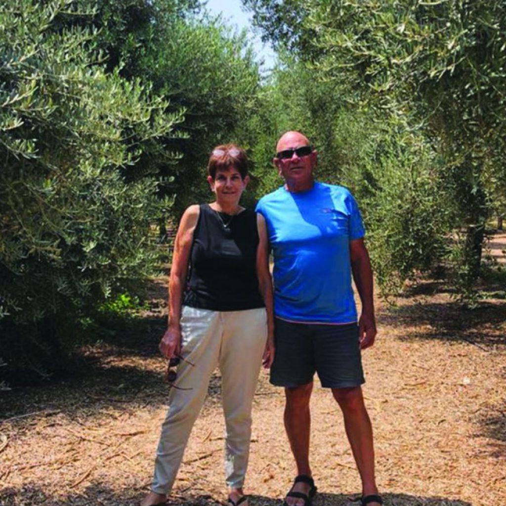 אראלה ואבנר אשד יזמות חקלאית לגיל הפנסיה