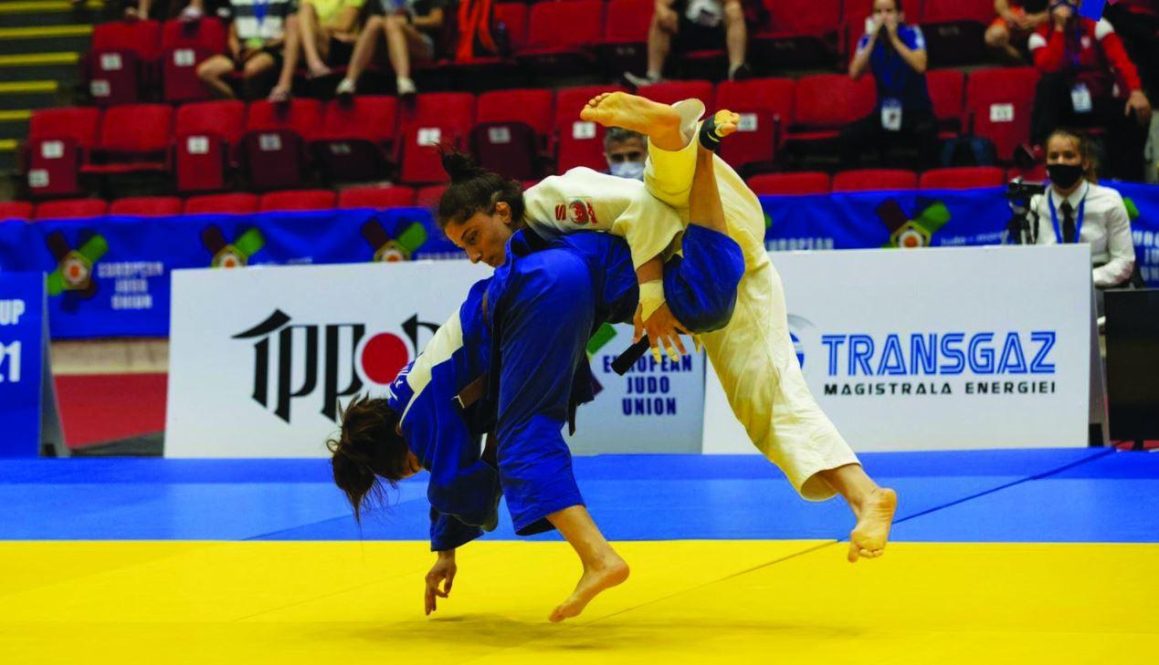 כרם בקרב שהביא לה את המדליה בתחרות גוניור בוקרשט צילום eju