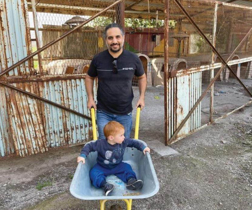 צחי הררי ובנו
