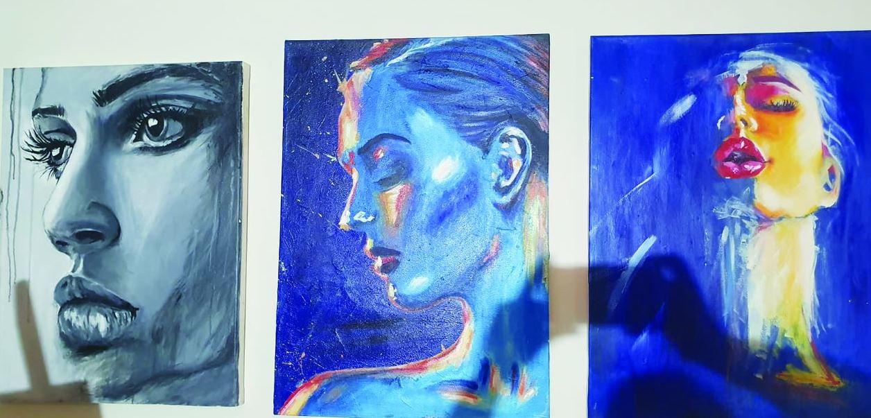 ציורים של בני הנוער