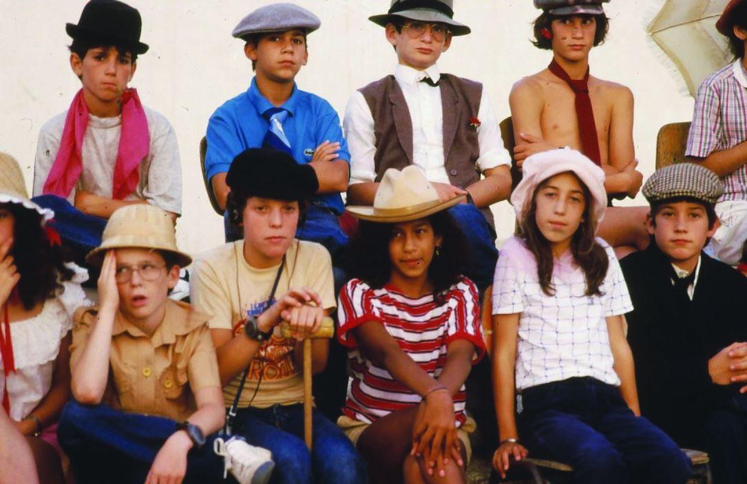 קבוצת החורש ערן יושב שלישי משמאל עם המקל