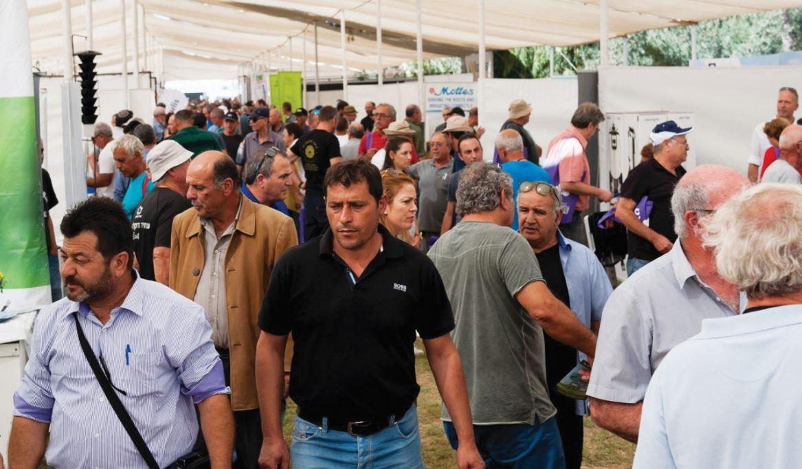 תערוכת אגרו ישראל יבול שיא